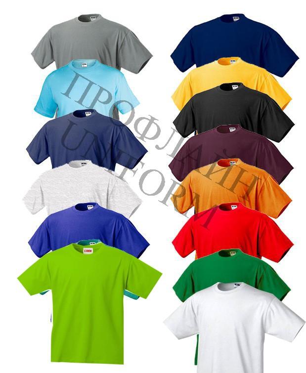 футболки однотонные